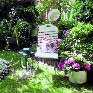 hinsetzen und genießen | kleingarten magazin, Best garten ideen
