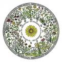 An der Blumenuhr von Carl von Linné kann man die Uhrzeit anhand der Blühzeiten v